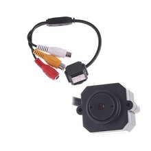 CCTV Security Color Night Vision Infrared Hidden Video Wired Mini Camera