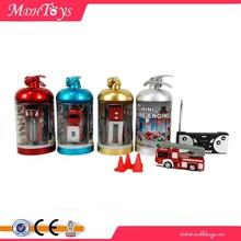 Plastic Mini RC Fire Truck Toys