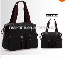 Fashion leisure 2015 Unisex design men and women's canvas shoulder bags 100% cotton messenger handbag students handbags