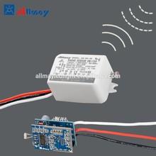 AC220v AC110v Mini radar motion sensor switch automatic on/off led bulb light 35w