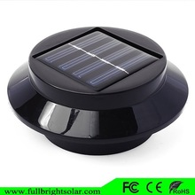 newest black fashion low price led roof light for yard villa with solar power