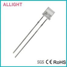 Dongguan Zhiding hot sale 5mm flat top led