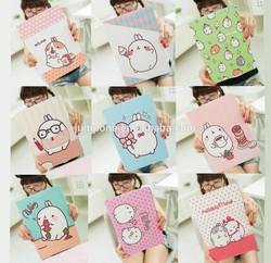 Cute Cartoon Rabbit Smart Wallet Leather Flip Case Cover For iPad Mini 1/2/3