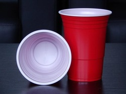 16oz 450ml disposable colored plastic cups party cups