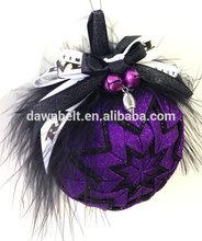 Hallooween Decorative Quilted Ornament