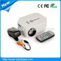 Hot 500:1contrast ratio cinéma dvd portable maison projecteurs/jeu portable& film. multimédia. led de poche mini projecteur portatif