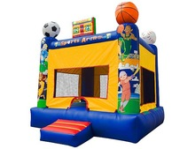 Popular Kids Inflatable Sports Arena Soccer Bounce House