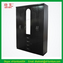 Profession top quality bedroom furniture wardrobe with mirror door B205