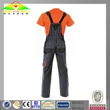 OEM 100% cotton fire retardant /flame retardant suspender trousers
