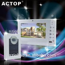shenzhen lastest new external CCTV door phone with SB Card
