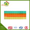 venta al por mayor de alta calidad de resistencia al impacto claro corrugado para techos hojas de plástico