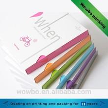 2015 elegant cardboard printed cosmetics package