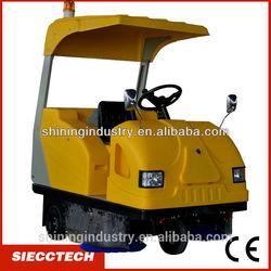 Vacuum battery floor sweeper / multifunctional runway cleaner / industrial road sweeper - SIECC