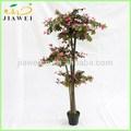 la decoración deinteriores azalea artificial flor de los árboles del tronco de madera para la venta