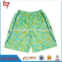 100% polyester dazzle Basketball shorts wholesale basketball training shorts basketball uniform