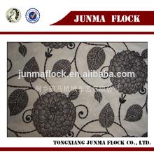 Junma grey black dots design manufacturer china fabric paint spray flocking