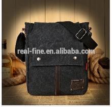 2015 new European and American retro casual canvas shoulder bag men Messenger bag man handbag across bag Korean wave