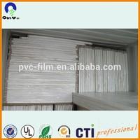 foamed pvc board/pvc foam sheet/high density pvc foam sheet