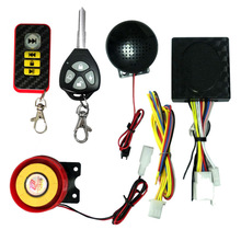 Motorcycle Bike 12V Anti-theft Alarm Human Voice For Toyota Hiace