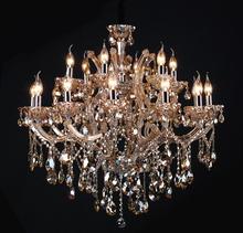 Modern crystal lustre de murano italiano