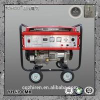 air cooled 4 stroke 50Hz 110v 115v 120v 220v 230v 240v 3kw gasoline hand crank electric generator