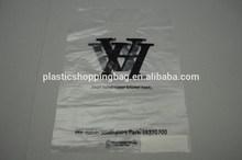 OEM Custom Printed Die Cut Handle Retail Plastic Bag Shopping Bag