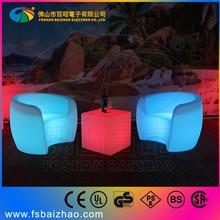 led glowing chair wedding throne