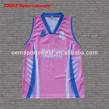 customized free design basketball tops