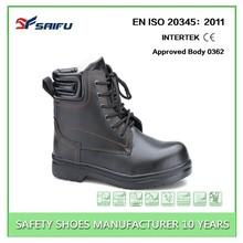 SF1221 black women steel toe safety shoe