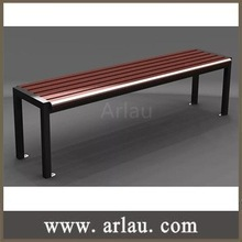 FW-13 Backless Benches Indoor Wooden Long Bench Chair