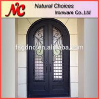 Double main doors for villa