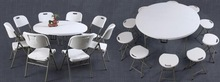 round banquet table and chair sets wholesale, tables and chairs for events,