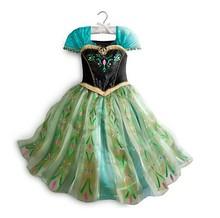 New 2015 Frozen Dress Elsa & Anna Summer Dress For Girl Princess Dresses Brand Girls Dress Children Clothing Kids Wear