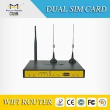 F7B32 3G wireless VPN Router with 4 LAN,dual SIM backup dual sim card vpn 3g router
