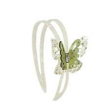 Wholesale cellulose acetate rhinestone luxury high-grade women butterfly hairband headband hair accessory