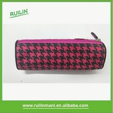 Wholesale Round Shape Custom Fancy Pencil Bag