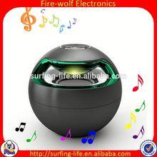 Boa promoção redonda potável alto-falante Bluetooth como presente da jóia Es atacado