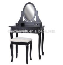 Dresser/ K/D Dressing Table with Stool/Bedroom K/D Dresser