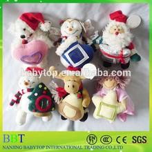 Christmas Plush toys, Santa Claus, Christmas snowman/ deer