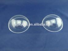 clear acrylic half dome
