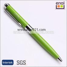 Germany idea luxury green eco-friend business metal stylus touch pen