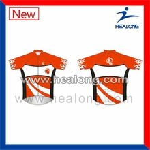Healong Digital Print Unique Long Sleeves Cycling Tops