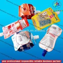 BPA Free kids juice spout pouch