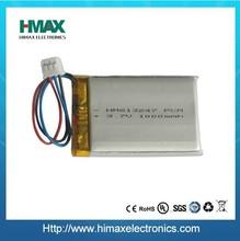 flat li-polymer 3.7v 4100mah rechargeable tablet pc battery