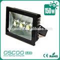 led luminarias ip65 cob bridgelux 150w diodo emissor de luz de inundação para o futebol e futebol de campo de luz
