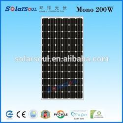 china product 200w solar panel price per watt solar panels