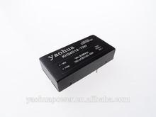 9-36vdc input 5V 12V 15V 24V output or dual output,2~60w wide voltage isolation regulated dc dc converter high quality