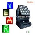Novo produto 4in1 rgbw led mover a cabeça luz matriz/painel magic