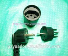 Germany to Swiss adapter plug,Multi plug adapter /travel / electric socket/Smart Power Converter