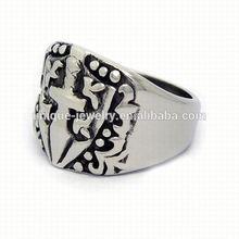 Titanium ring 2015 new men ring model alloy cross ring
